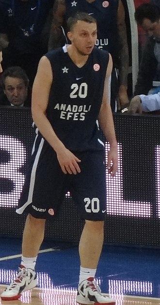 Duško Savanović - Savanović with Anadolu Efes in 2012