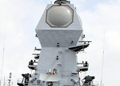 ELM 2248 MF-STAR radar onboard INS Kolkata (D63) of the Indian Navy.png