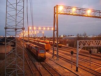 St Andrews Road railway station - Image: EWS AVONMOUTH