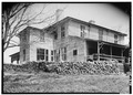 EXTERIOR, REAR AND SIDE ELEVATIONS - Tamassee, Tamassee, Oconee County, SC HABS SC,37-TAM.V,1-3.tif