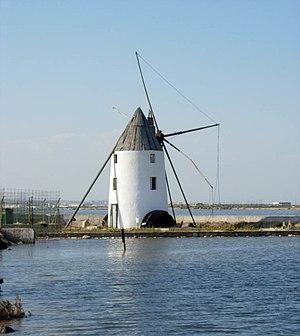 San Pedro del Pinatar, Spain - Ezequiela's windmill.