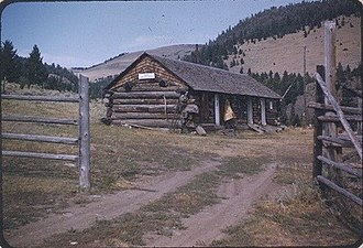 National Register of Historic Places listings in Montana - Image: Eagle Guard Station 1956