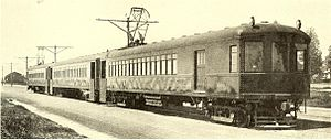 East Bay Electric Lines - An East Bay Electric Lines train, 1911