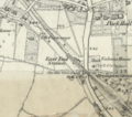 East Finchley station on OS Map, 1873.png