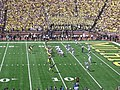 Eastern Michigan vs. Michigan 2011 05 (Michigan on offense).jpg
