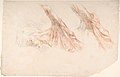 Ecorché- Two Studies of the Muscles of the Shoulder and of the Arm, Raised MET DP805850.jpg