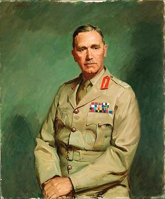 Edmund Herring - Portrait of Lieutenant General Sir Edmund Herring by William Dargie, which won the Archibald Prize in 1945
