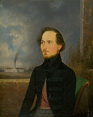 Portrait of J. Stróbl