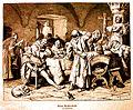 Eduard von Grutzner Falstaff ivre chez les moines de Bohème 1878.jpg