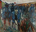 Edvard Munch - Workers on their Way Home - Google Art Project.jpg