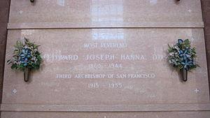 Edward Joseph Hanna - Hanna's vault at Holy Cross