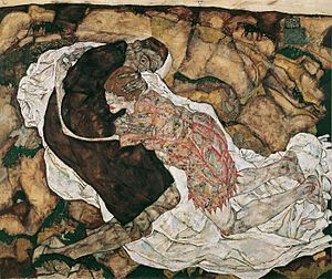 Death and the Maiden (The Verlaines song) - Death and the Maiden by Egon Schiele