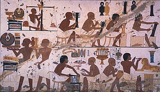 Art of ancient Egypt - Depiction of craftworkers in ancient Egypt