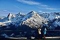 Eiger, Mönch and Jungfrau, Swiss Skyline, Birg, Schilthorn (Ank Kumar) 06.jpg