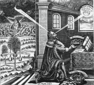 William Marshall (illustrator) - William Marshall's Eikon Basilike print
