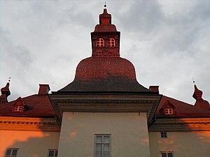 Ekenäs Castle - One of the three iconic shingled towers of the Ekenäs Castle.