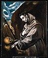 El Greco - Saint Francis Standing in Meditation, Frati 123.jpg