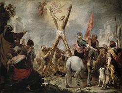 Bartolomé Esteban Murillo: The Martyrdom of St. Andrew (Murillo)