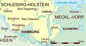 Stecknitz Canal - The modern Elbe–Lübeck Canal in eastern Schleswig-Holstein