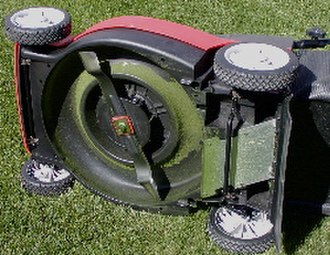 Blade grinder - Blade on a rotary lawn mower