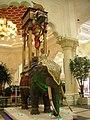 Elephant clock, Dubai.jpg