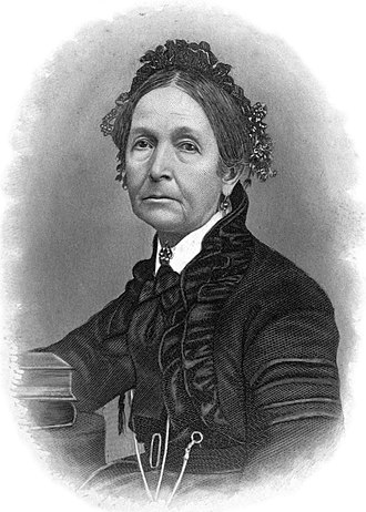 Eliza R. Snow - Engraving of Eliza R. Snow