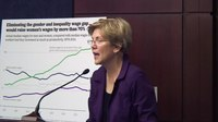 File:Elizabeth Warren- How do you get ahead when you don't know your work schedule-.webm