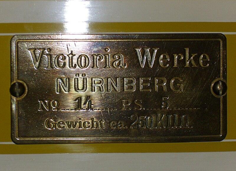 Industriegeschichte: Victoria-Werke 800px-Emblem_Victoria