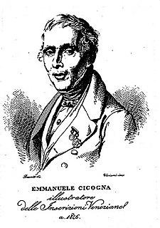 Emmanuele Antonio Cicogna Italian historian