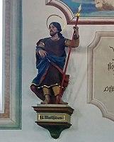 Emmering Kirche St Johann Baptist & Evangelist 058 Südwand Matthäus.jpg