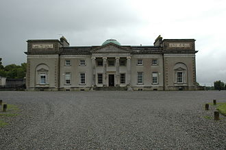 Earl of Portarlington - Emo Court, the former seat of the Earls of Portarlington.
