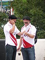English Frenchmen attending Rugby World Cup Opening Ceremony.jpg