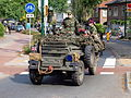English army Land Rover, Bridgehead 2011 pic2.JPG