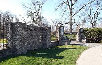 Buffalo Zoo - Buffalo Zoo Entrance Court, April 2013