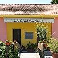 Entrance of restaurant La Campagnola in Tovo, Villa Faraldi, Imperia, Liguria, Italy - 2016-07-19.jpg