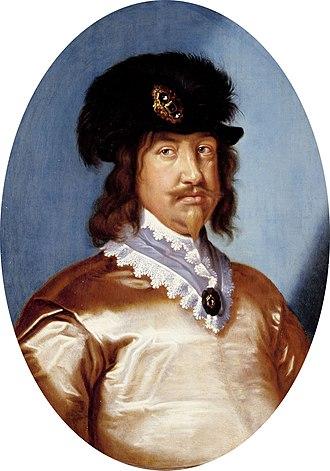 Christian, Prince-Elect of Denmark - Portrait by Karel van Mander III, 1642