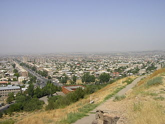 Erebuni District - General view of the district with the Erebuni street within the Nor Aresh neighbourhood
