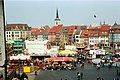 Erfurt, the spring feast on the Domplatz in 2009.jpg