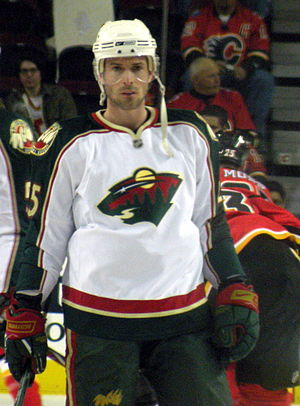 Éric Bélanger - Belanger with the Minnesota Wild.