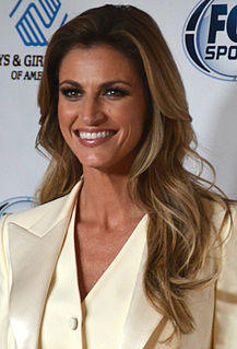 Erin Andrews American sportscaster and television personality