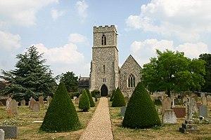 Thomas Tuddenham - Parish church at Eriswell, Suffolk, where Sir Thomas Tuddenham was baptised