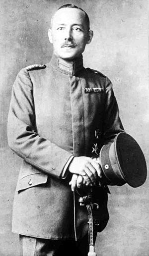 Siege of Mora - German commander at Mora, Major Ernst von Raben