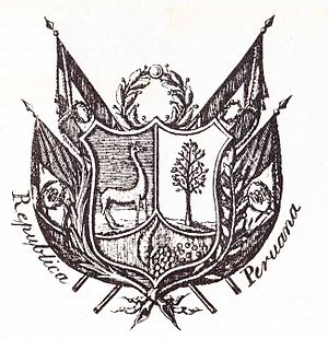 Coat of arms of Peru - Coat of Arms in 1825