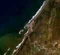 Essaouira viewed from space.
