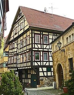 Esslingen am Neckar Webergasse 8