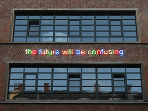 Tim Etchells - Etchells' the future will be confusing,  Mousonturm, Frankfurt
