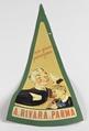 Etichetta pubblicitaria ditta Rivara - Musei del cibo - Parmigiano - 125.tif