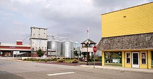 Etna Green, Indiana - Downtown Etna Green