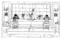 Ett hem Carl Larsson svartvit teckning 13.png
