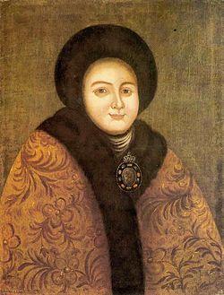 Eudokia Lopukhina (18 c., Chukhloma museum).jpg